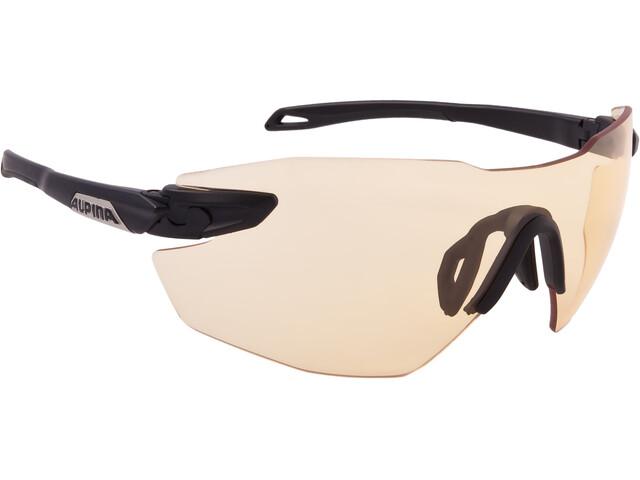 Alpina Twist Five Shield RL VL+ - Lunettes cyclisme - noir